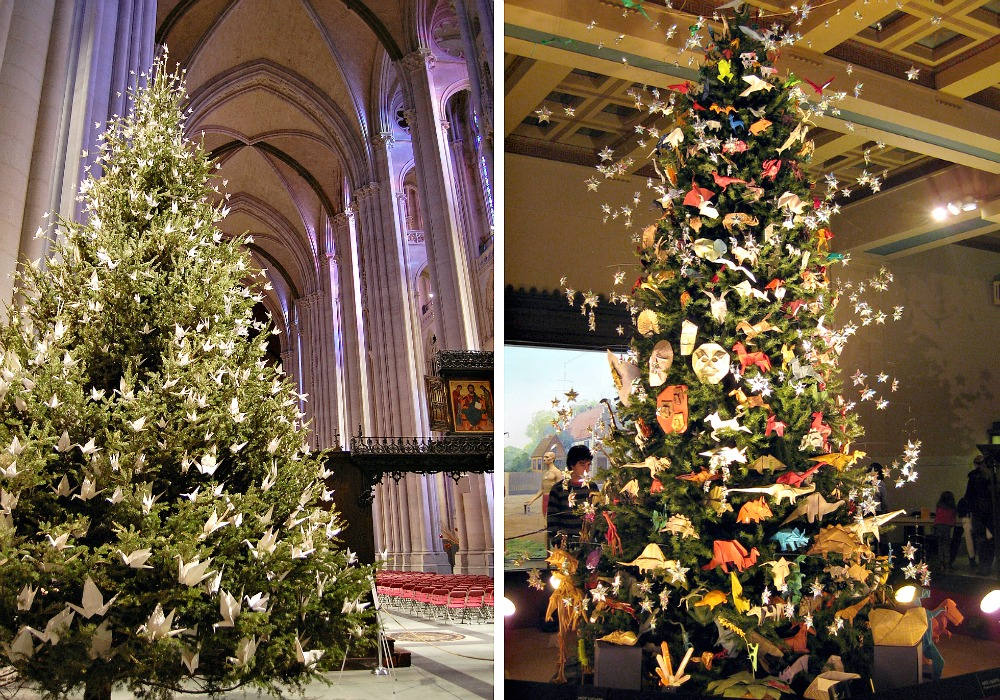 NYC Christmas Trees, American Museum of Natural History, Cathedral of St. John the Divine