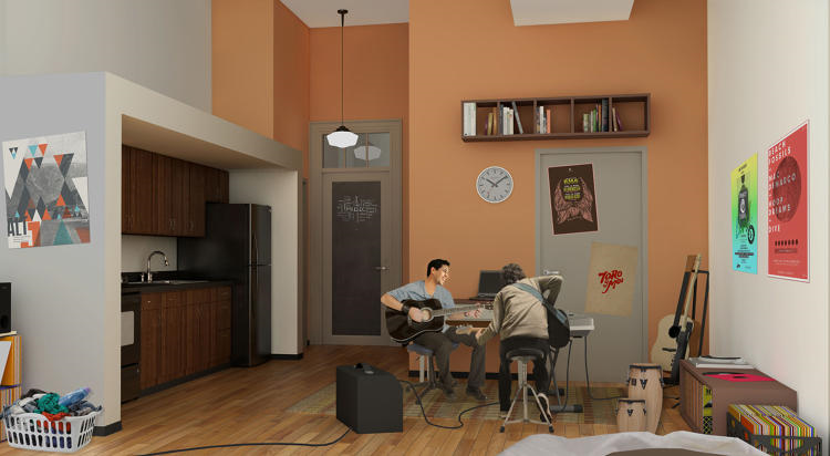 El Barrio's Artspace PS109, East Harlem, artists housing