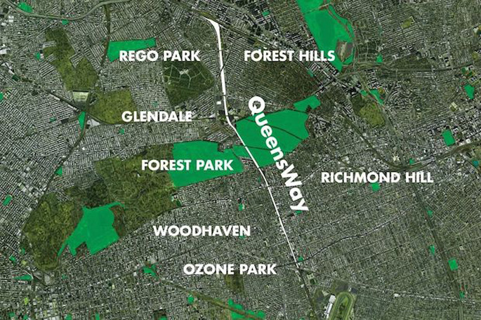 Proposed Queensway Elevated Park 2014