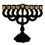 modern menorahs for hanukkah, designy menorahs, modern menorah design, modern menorahs, Shadow Hanukkah Lamp from Barbara Shaw Gifts