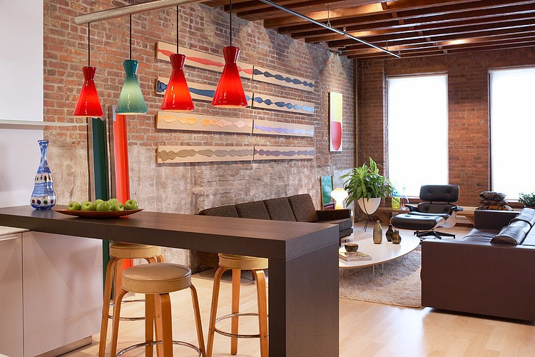 Tra founders transform soho loft into bright sophisticated space 6sqft - Deco loft new yorkais ...