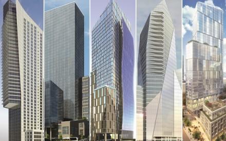 Riverside Center, Extell, Silverstein Properties, Manhattan's West Side, NYC Development, Elad, Upper West Side