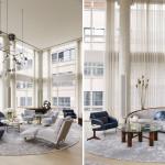 Tribeca Triplex, Amy Lau, circular living room