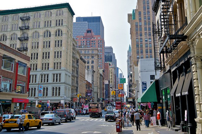 broadway and canal street