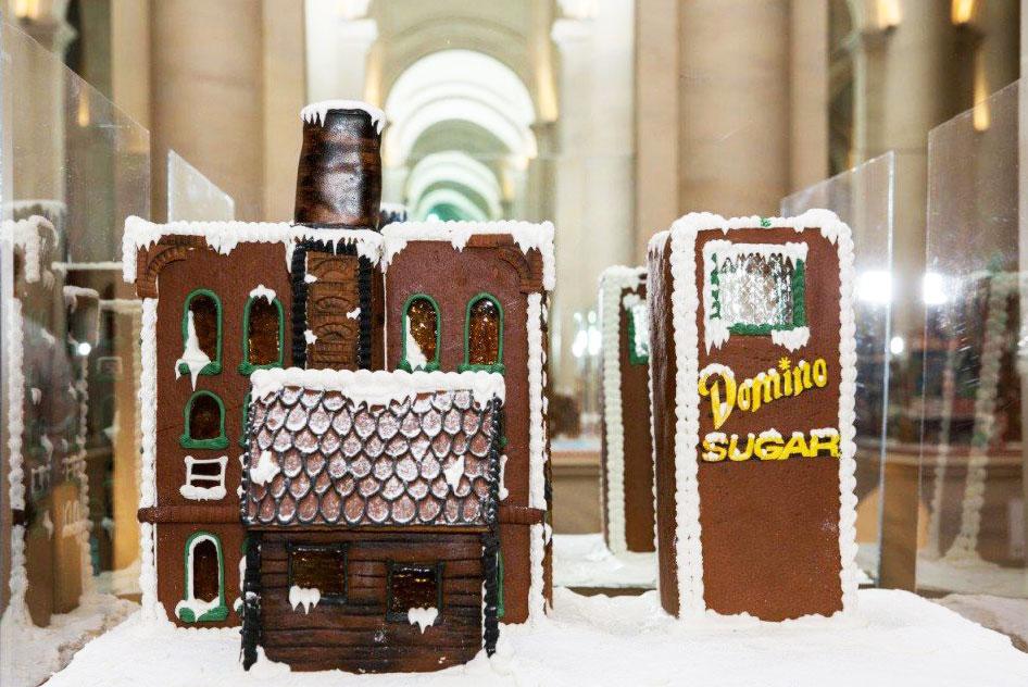 gingerbread domino sugar factory
