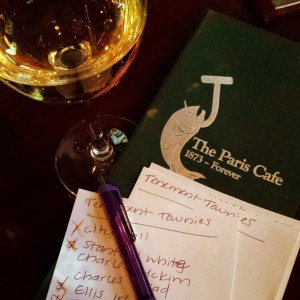 Preservation trivia night at the Paris Cafe. Go Tenement Townies!…