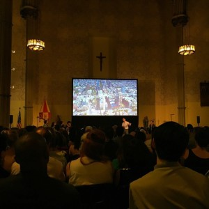 We're at #pitchingthecity! We're rooting for the #eastriverskyway tonight! @ideascity…