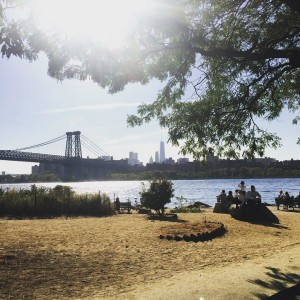 Williamsburg Brooklyn nyc bridges waterfront eastriver sunshine booklyn