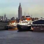 Mighty Manhattan – New York's Wonder City, Technicolor, vintage Manhattan, Chelsea Piers