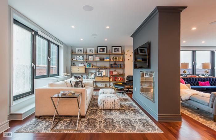 233 Pacific Street, wide-plank Brazilian cherry floors, 233