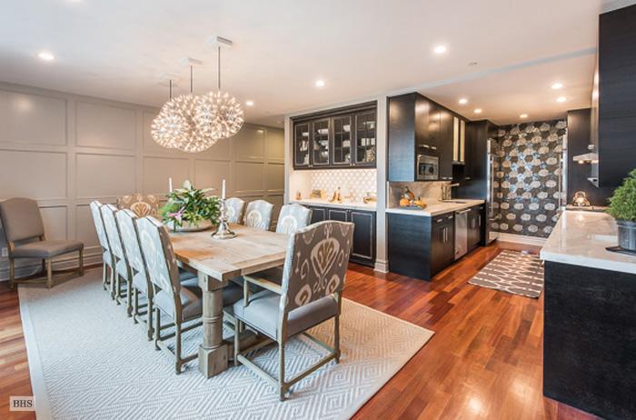 233 Pacific Street, wide-plank Brazilian cherry floors,