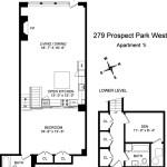 279 Prospect Park West, Prospect Park, renovated kitchen, gated parking