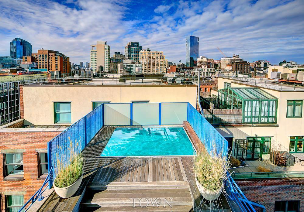 45 Greene Street, Soho Cast Iron District, multiple outdoor terraces, swimming pool