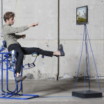 Govert Flint, skeleton mobile chair, Segregation of Joy, click with a kick, The Institute for Applied Motions, Sami Sabik, Scapino Ballet Rotterdam, Design Academy Eindhoven