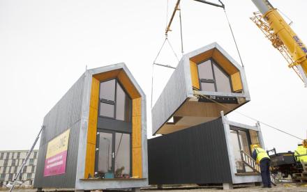 Heijmans ONE, portable housing, modular housing, nyc affordable housing, nyc affordable housing crisis