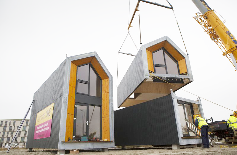 6sqft Heijmans One Portable Housing Modular Housing