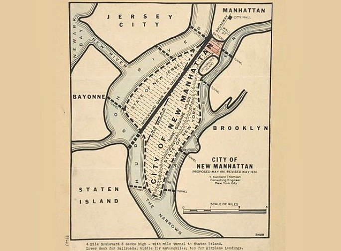T. Kennard Thomson, New Manhattan