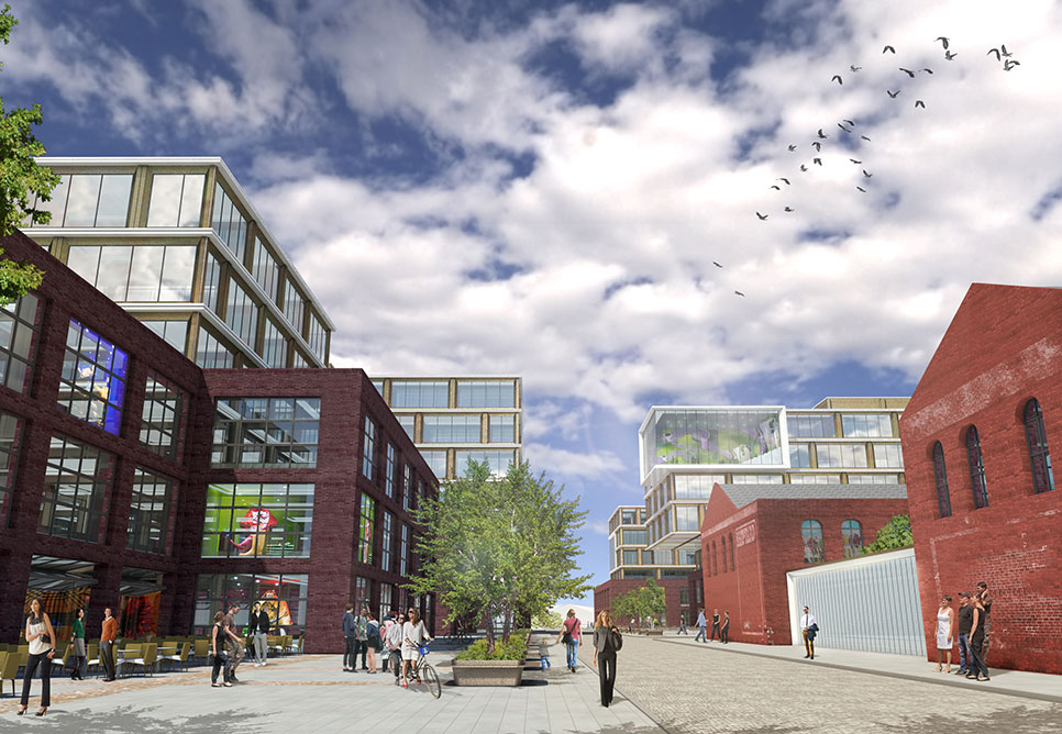 Red Hook Innovation District, Estate Four, NBBJ Architects
