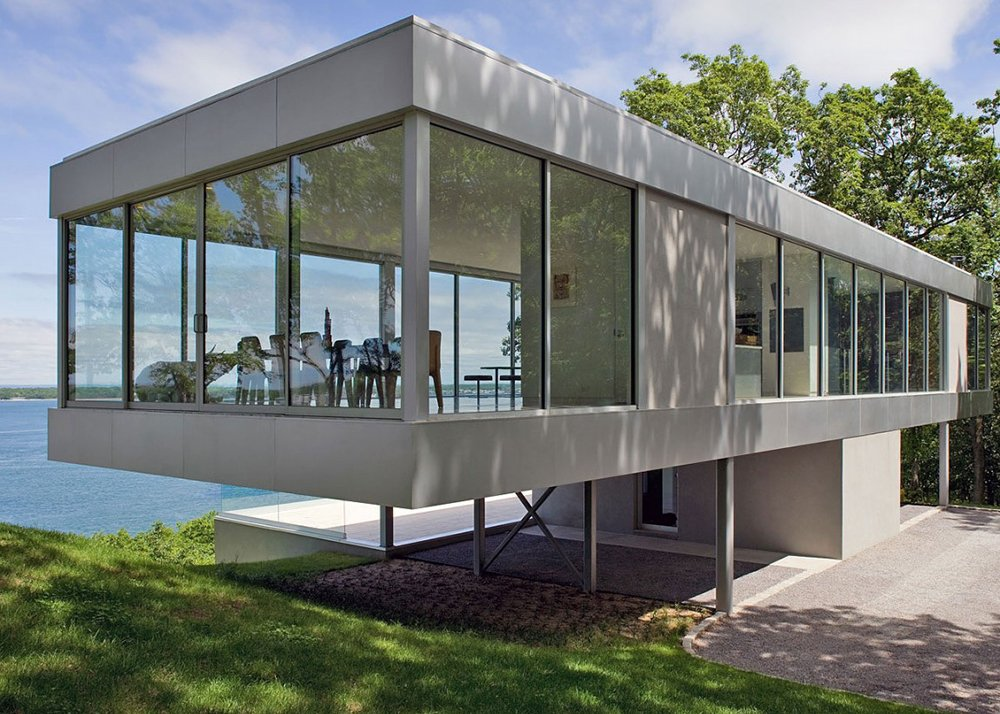 Stuart Parr Design Ultra Contemporary Clearhouse 1 - Get Small Modern Glass House Plans Images