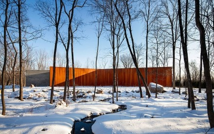 William Reue, A House in the Woods, sustainable architecture