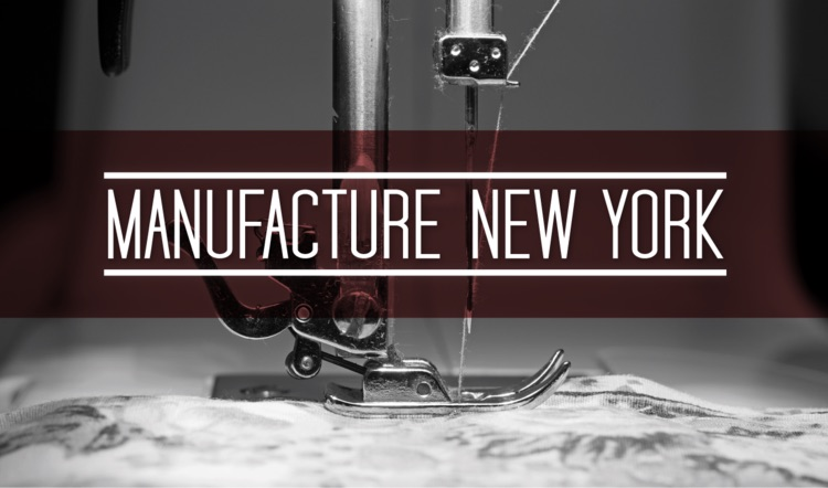 Manufacture New York, Fashion, Design, FIT, Parsons, Pratt, Incubator, Sunset Park, Industry City