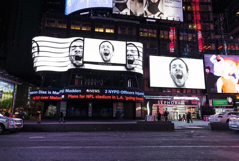 Sebastian Errazuriz, Times Square, public art