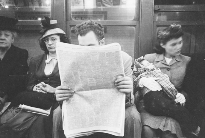 vintage new york subway photos by stanley kubrick