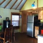 glamping, mongolian-inspired yurt, eco-friendly yurt, Ithaca, Newfield, comfortable retreat, vegetable garden, fruit orchard,