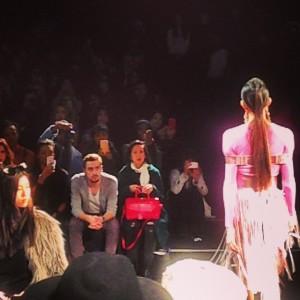 #fashionweek #lincolncenter @mongol_brand