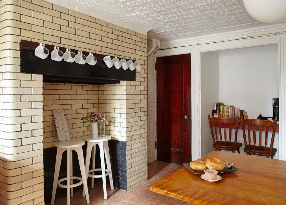 123 GATES brooklyn kitchen, historic brooklyn townhouse