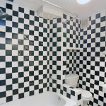 192 11th Street, original details, outdoor space, black and white checkered bathroom