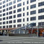 72nd street subway entrance, second ave subway, sas rendering