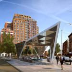 AIDS Memorial, Greenwich Village Park, Rudin Management, Studio a+1
