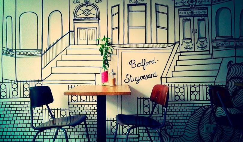 Bed Stuy, Cafe, Amsterdam, Brooklyn