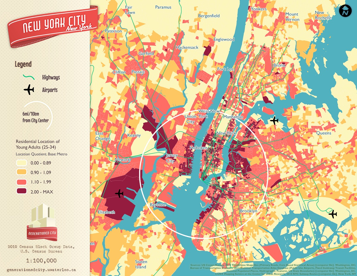 Map This 7 Cool New York City Maps to Teach You Something New 6sqft