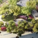 Greenwich Village Park, Rudin Management, AIDS memorial, M. Paul Friedberg & Partners