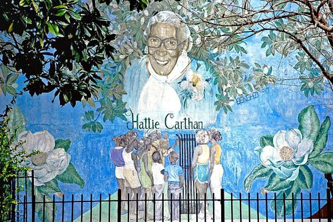 Hattie Carthan, Hattie Carthan Community Garden, Magnolia Tree Earth Center, Magnolia Grandiflora