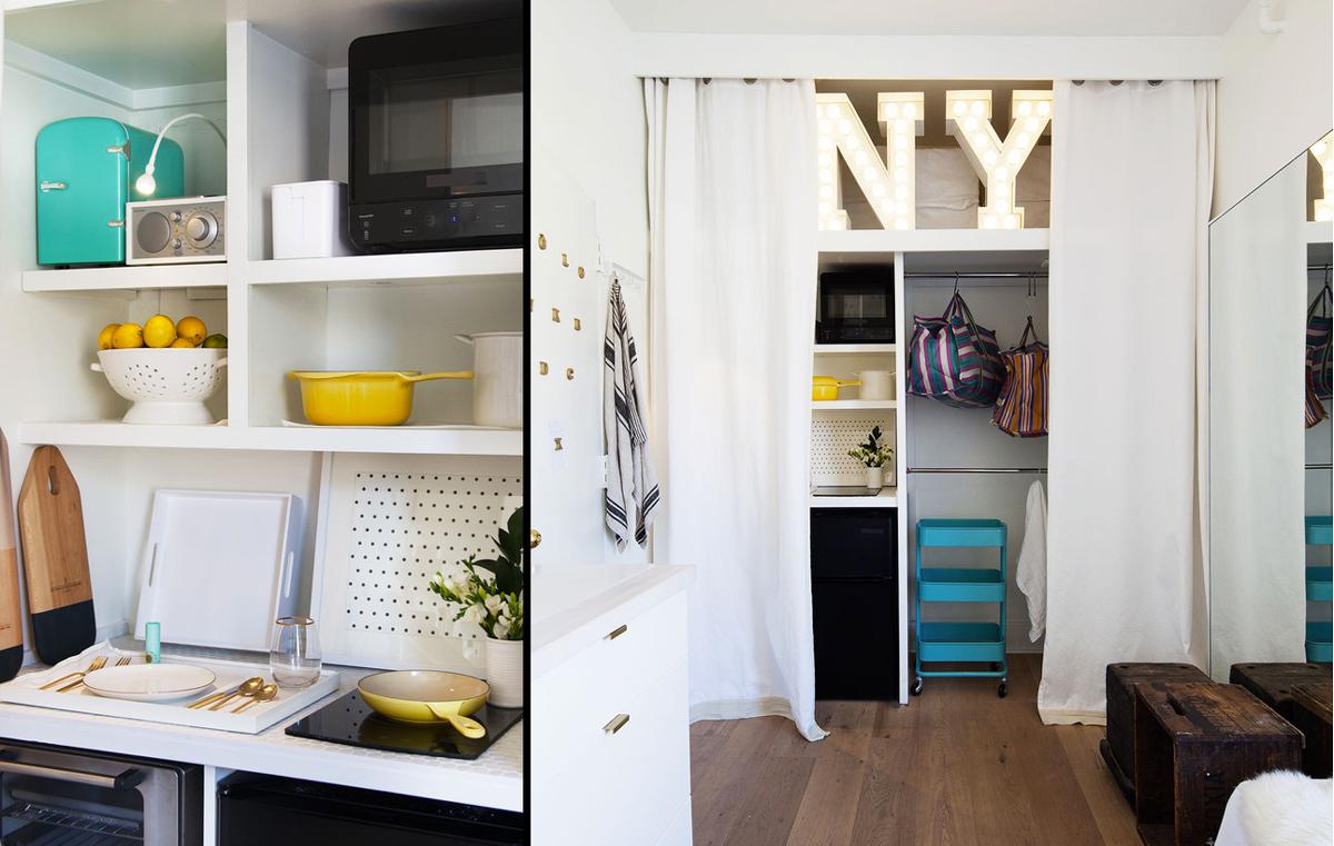 mischa lampert apartment, tiny nyc apartment, tiny homes nyc, micro nyc housing, micro apartments, tiny apartments new york, small soho apartments, micro homes, soho real estate