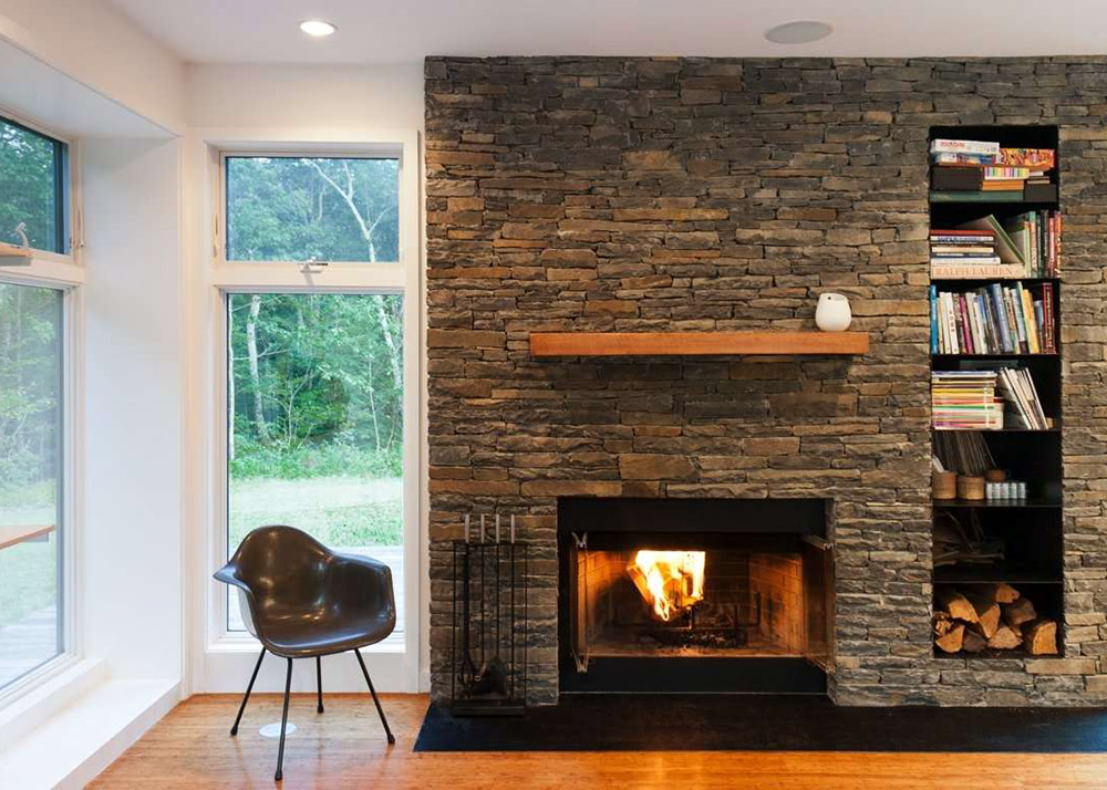 Res4s Modern Prefab Home Beautifully  bines Wood And Stone In The Catskills furthermore Home Office Stone Walls further Metal Fencegates together with Impressive Modern Cottage At The Base Of Squak Mountainin Washington in addition Home Landscaping Ideas. on modern stone homes