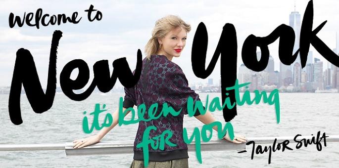 Taylor Swift, NYC Global Welcome Ambassador