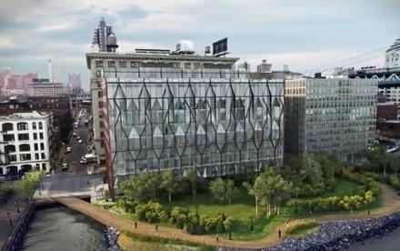 10 Jay Street, ODA Architecture, Dumbo development, sugar refinery NYC