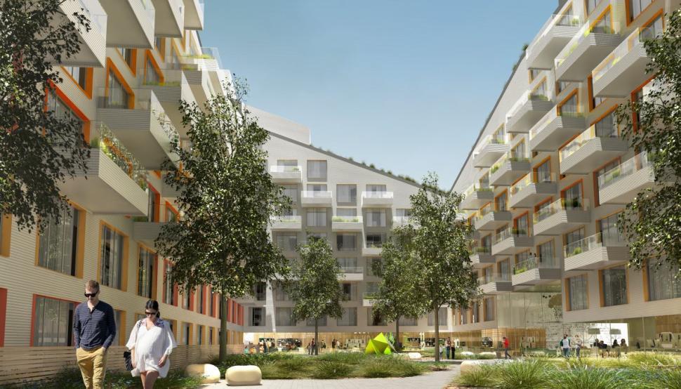 10 Monteith Street, ODA New York, Rabsky Group, Bushwick development