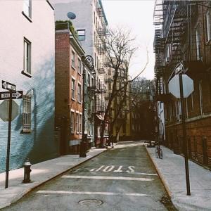 #greewnwichvillage #westvillage #teenystreets #TGIF #nyc #newyork