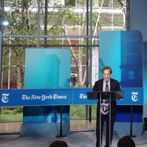 Kicking off the nytconf citiesfortomorrow with Michael Kimmelman urbandesign architecturehellip
