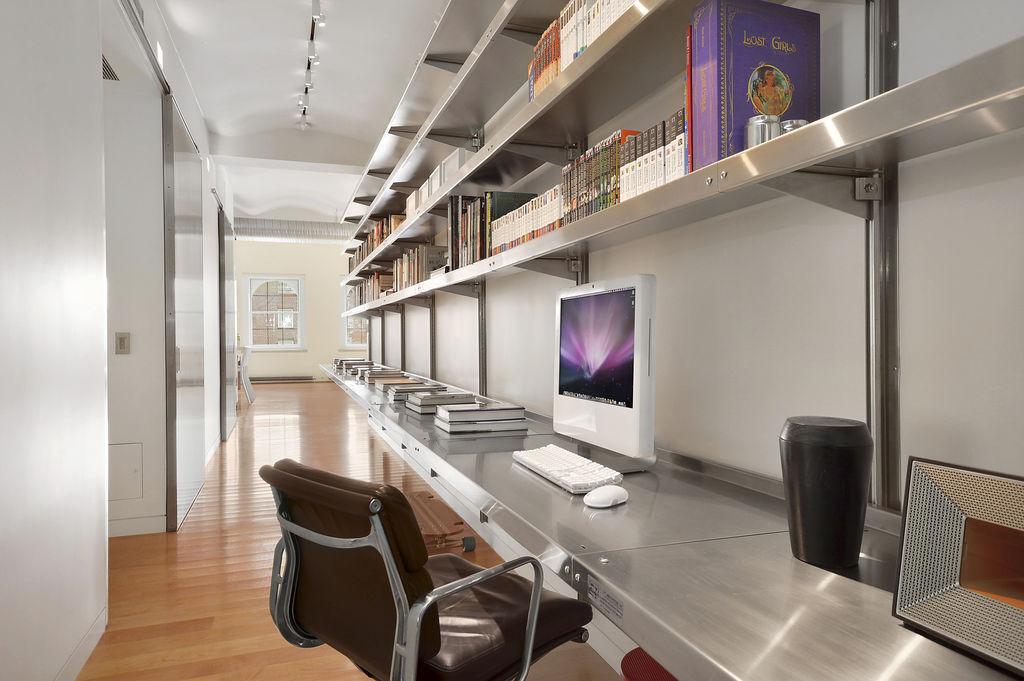 429 Greenwich Street, Dietz Lantern Building, David Mann of MR Architecture + Décor, see-through bathroom
