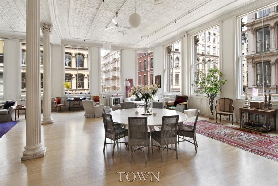 Sprawling Soho Loft Featured In Sex And The City Lists