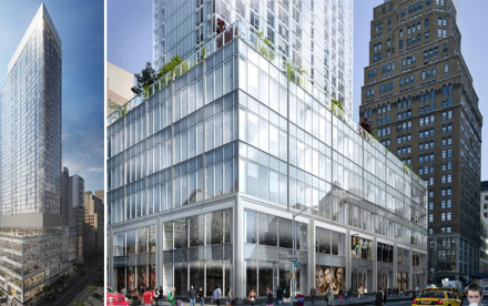Durst Organization, Fetner Properties, Herald Square, Flower District, Skyscrapers, NYC Rentals, Nike, Tessler, Chetrit, Pelli Clarke Pelli, Cook + Fox, SLCE, Ian Schrager