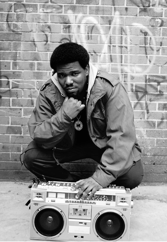 Afrika Bambaata. 1983. Photographer: Janette Beckman