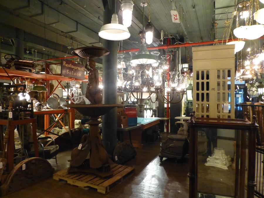 urban archeology, gil shapiro, salvage, antiques, auction, tribeca, soho, lighting, interiors, design, architecture, chandelier, bathroom fixtures, One Madison, Ralph Lauren