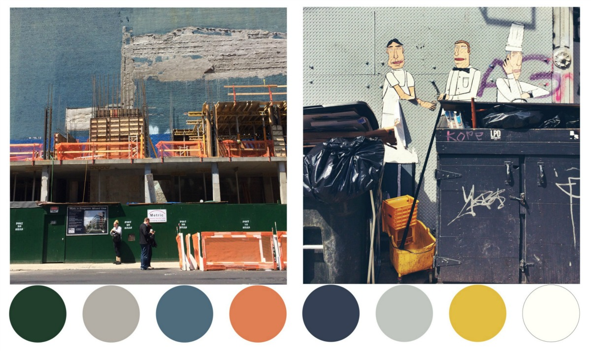 Color Me NYC, Andrew Bly, NYC photography, design color palettes
